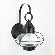 Cottage Onion 1 Light Wall Lantern