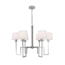 Maya 6 Light Candle Chandelier