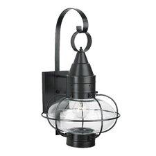 Classic Onion 1 Light Outdoor Wall Lantern