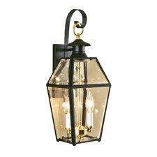 Olde Colony 2 Light Outdoor Wall Lantern