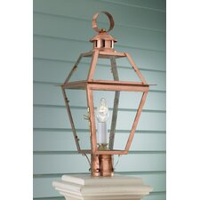 Old Colony 1 Light Outdoor Pier Mount Light