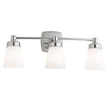 Soft Square 3 Light Bath Vanity Light