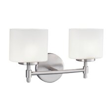 Moderne 2 Light Wall Sconce