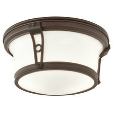Leah 2 Light Flush Mount