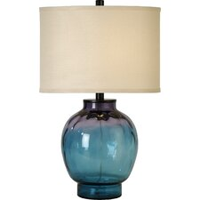 "Panacea 27.5"" H Table Lamp with Drum Shade"
