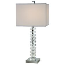 "Ascension 27.5"" H Table Lamp with Square Shade"