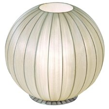 "Shanghai 17"" H Table Lamp with Sphere Shade"