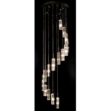 Spirale 16 Light Crafted Chandelier