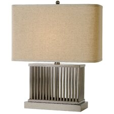 "Escape 20"" H Table Lamp with Rectangular Shade"