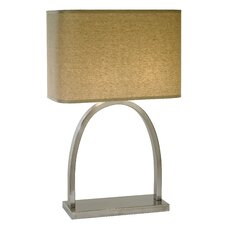"Dusk 26.5"" H Table Lamp with Rectangular Shade"