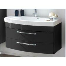 100 cm Einzelwaschbeckenunterschrank-Set Rima