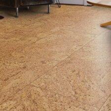 """CorkComfort 11-5/8"""" Engineered Cork Hardwood Flooring Panel in Natural Cork"""