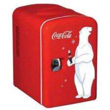 Coca Cola 6-Can Compact Refrigerator