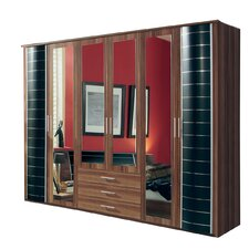 Turcan 6 Door Wardrobe