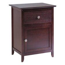 Gallinas 1 Drawer Nightstand