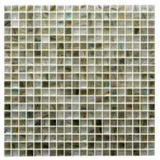 "Honey Berries 0.63"" x 0.63"" Glass Mosaic Tile in Gray"