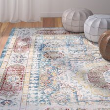 Thanh Blue Area Rug