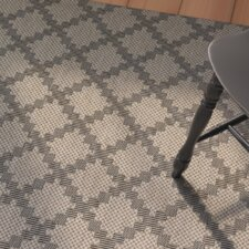 Teppich Dracut in Beige/Schwarz
