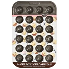 Sweet Creations Non-Stick Bake Perfect Mini Muffin Pan