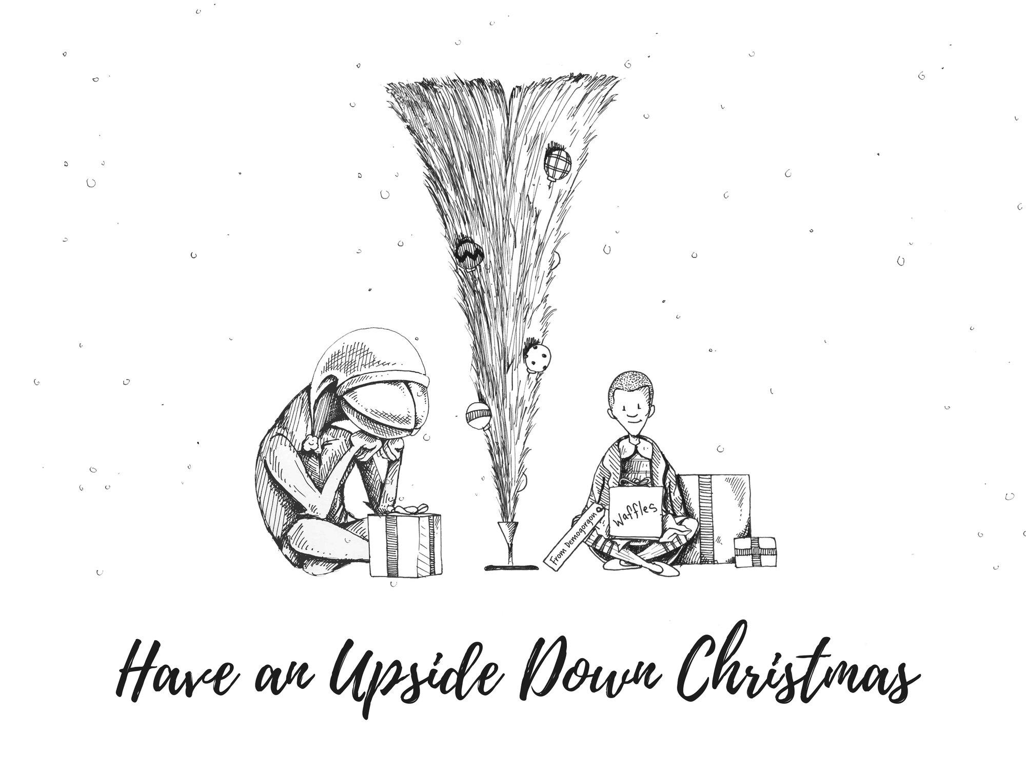 Strange Things Christmas Card