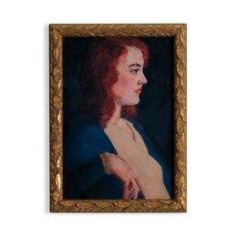 Vintage Lady Redhead