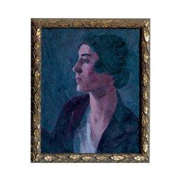 Vintage Lady Brunette