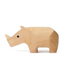Carved Rhino Box