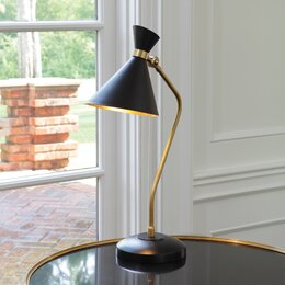 "Cone 25"" H  Table Lamp"