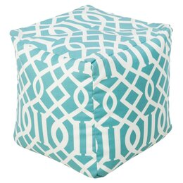 Trellis Outdoor Pouf
