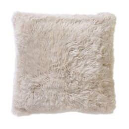 Smooth Sheepskin Pillow