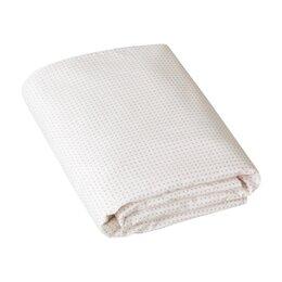Pin Dot Petal Fitted Crib Sheet