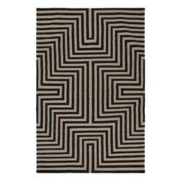Maze Flatweave Ink Area Rug