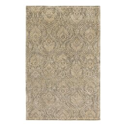 Plume Hand Knotted Flint Area Rug