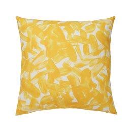 Brushstroke Citrine Pillow