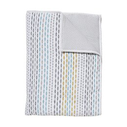 Sidney Quilted Reversible Play Blanket