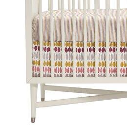 Aimee Percale Crib Skirt
