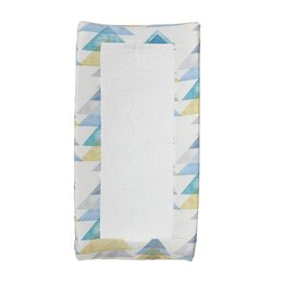 Triangles Changing Pad Cover