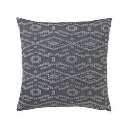 Tangier Geo Charcoal Pillow