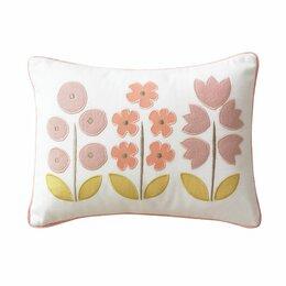 Rosette Blossom Boudoir Pillow