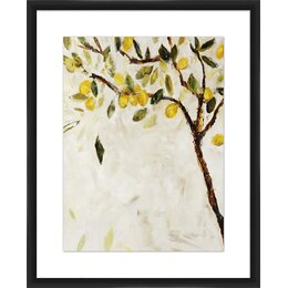 Citrine Dream Framed Print