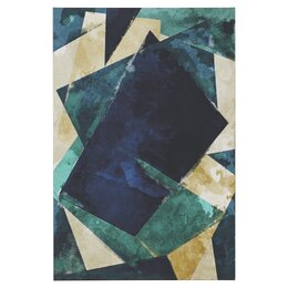 Abstracta Dos Painting Print on Wrapped Canvas