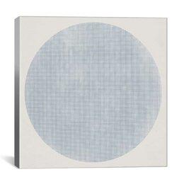 Blue Dot Print
