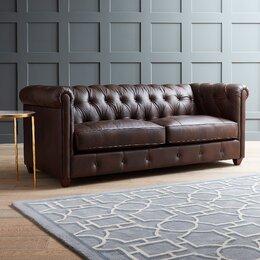 Keegan Leather Sofa