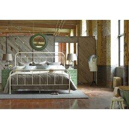Williamsburg Queen Metal Panel Bed