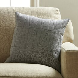 Square Chambray Pillow