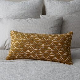 Modern Pyramid Decorative Pillow