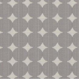 Ikat Dot Fabric - Pewter