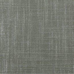 Glazed Linen Fabric - Steel