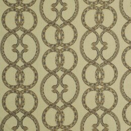 Snake Chain Fabric - Dove