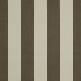 Oversize Stripe Fabric - Charcoal